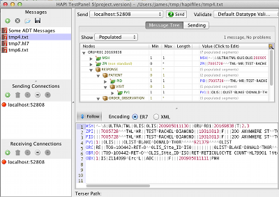 HAPI – The Open Source HL7 API for Java